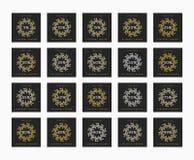 Έκπτωση 5 έως 99 τοις εκατό Έκπτωση καρτών Στοκ φωτογραφία με δικαίωμα ελεύθερης χρήσης