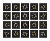 Έκπτωση 5 έως 99 τοις εκατό Έκπτωση καρτών Στοκ Φωτογραφίες