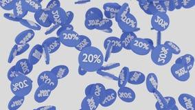 Έκπτωση ή πώληση Στοκ φωτογραφία με δικαίωμα ελεύθερης χρήσης