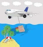Έκπτωση στις διακοπές ελεύθερη απεικόνιση δικαιώματος