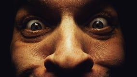Έκπληκτα ανθρώπινα μάτια Στοκ Εικόνες