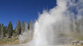 Έκρηξη μεγάλο Geyser απόθεμα βίντεο
