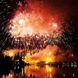 Έκρηξη νύχτας Στοκ Φωτογραφίες