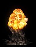 έκρηξη ογκώδης Στοκ εικόνες με δικαίωμα ελεύθερης χρήσης