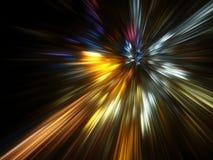Έκρηξη ουράνιων τόξων Στοκ Φωτογραφίες