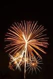 Έκρηξη πυροτεχνημάτων Στοκ εικόνες με δικαίωμα ελεύθερης χρήσης