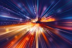 Έκρηξη σπινθηρίσματος του φωτός διανυσματική απεικόνιση
