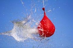 Έκρηξη του συνόλου μπαλονιών του νερού στοκ φωτογραφία με δικαίωμα ελεύθερης χρήσης