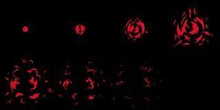 Έκρηξη φύλλων δαιμονίου Έτοιμος για τα παιχνίδια διανυσματική απεικόνιση