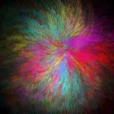 έκρηξη χρωμάτων Στοκ εικόνες με δικαίωμα ελεύθερης χρήσης
