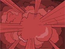 έκρηξη Στοκ εικόνα με δικαίωμα ελεύθερης χρήσης