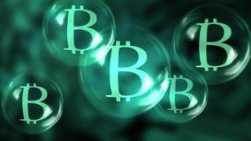 Έκρηξη Bitcoin ελεύθερη απεικόνιση δικαιώματος