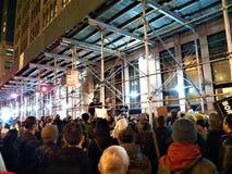 Έκτακτη ανάγκη στην ελεύθερη Ravi 11 Ιανουαρίου 2018 - η νέα Νέα Υόρκη της Υόρκης ΗΠΑ Στοκ Εικόνες