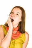 έκφραση που κουράζεται Στοκ φωτογραφία με δικαίωμα ελεύθερης χρήσης