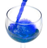 έκχυση αλκοόλης στοκ εικόνα με δικαίωμα ελεύθερης χρήσης