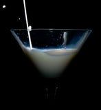 έκχυση γάλακτος στοκ φωτογραφία