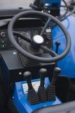 Έλεγχοι των βαριών μηχανημάτων Στοκ Εικόνα