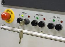 έλεγχος κουμπιών Στοκ εικόνες με δικαίωμα ελεύθερης χρήσης