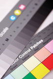 έλεγχος χρώματος διαγρ&alph Στοκ φωτογραφία με δικαίωμα ελεύθερης χρήσης