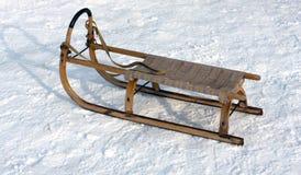 έλκηθρο ξύλινο Στοκ εικόνες με δικαίωμα ελεύθερης χρήσης