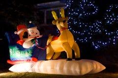 έλκηθρο Χριστουγέννων Στοκ Εικόνες