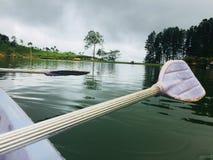 Έλλειψη με τη βάρκα στοκ φωτογραφία με δικαίωμα ελεύθερης χρήσης