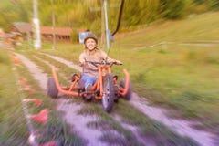 Έλξη που οδηγά στα τρίκυκλα στοκ εικόνες με δικαίωμα ελεύθερης χρήσης