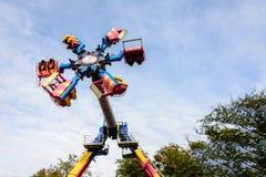 Έλξη στο πάρκο ψυχαγωγίας πόλεων της Οδησσός Στοκ Φωτογραφία