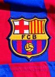 έμβλημα της Βαρκελώνης fc στοκ εικόνα