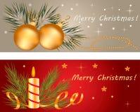 Έμβλημα Χριστουγέννων Στοκ φωτογραφία με δικαίωμα ελεύθερης χρήσης