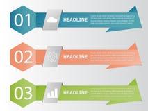 Έμβλημα χρώματος δέντρων infographic, στοιχεία επιχειρησιακών πληροφοριών διανυσματική απεικόνιση