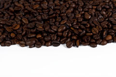 έμβλημα coffeebeans Στοκ Φωτογραφίες