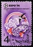 Έμβλημα, EXPO 74, circa 1974 Στοκ Εικόνες