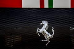 Έμβλημα Ferrari αλόγων Prancing Στοκ εικόνες με δικαίωμα ελεύθερης χρήσης