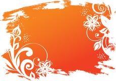 έμβλημα floral Στοκ Φωτογραφίες