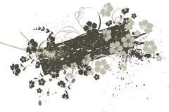 έμβλημα floral Στοκ Εικόνες