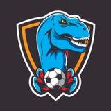 Έμβλημα ή λογότυπο για μια αθλητική ομάδα διανυσματική απεικόνιση