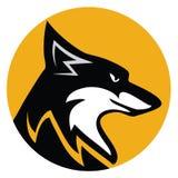Έμβλημα αλεπούδων Στοκ φωτογραφία με δικαίωμα ελεύθερης χρήσης