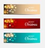 Έμβλημα ιστοχώρου Χριστουγέννων και υπόβαθρο καρτών Στοκ φωτογραφία με δικαίωμα ελεύθερης χρήσης
