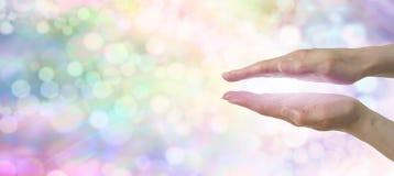 Έμβλημα ιστοχώρου Healers ουράνιων τόξων Στοκ εικόνες με δικαίωμα ελεύθερης χρήσης
