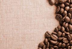 Έμβλημα καφέ Στοκ Εικόνα