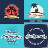 Έμβλημα Καλιφόρνιας Στοκ εικόνες με δικαίωμα ελεύθερης χρήσης