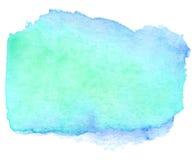 Έμβλημα κιρκιριών Watercolor Στοκ φωτογραφία με δικαίωμα ελεύθερης χρήσης