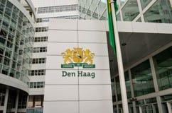 Έμβλημα πόλεων της Χάγης Στοκ εικόνες με δικαίωμα ελεύθερης χρήσης