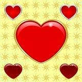 Έμβλημα της αγάπης Στοκ εικόνα με δικαίωμα ελεύθερης χρήσης