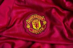 Έμβλημα της Manchester United Στοκ εικόνα με δικαίωμα ελεύθερης χρήσης