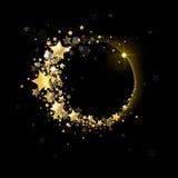 Έμβλημα των αστεριών ελεύθερη απεικόνιση δικαιώματος