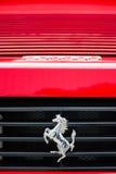 Έμβλημα Ferrari Στοκ φωτογραφία με δικαίωμα ελεύθερης χρήσης