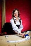 Έμπορος πόκερ Στοκ Εικόνα