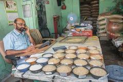Έμπορος ρυζιού Στοκ Φωτογραφίες